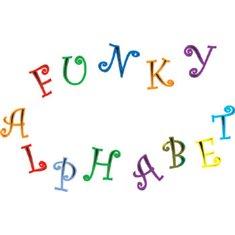 FMM Funky Alphabet & Numbers 3-4cm