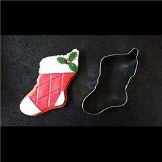 Μεταλλικό Κουπάτ Μπισκότου Χριστουγεννιάτικη Κάλτσα