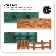 Wall & Gate - Set of 2