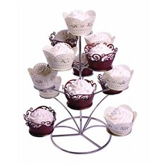 Chrome Cupcake Stand