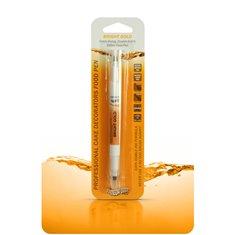 Διπλός Μαρκαδόρος Τροφίμων  - Έντονο Χρυσό - (Food Pen Bright Gold)