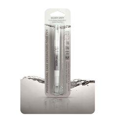 Διπλός Μαρκαδόρος Τροφίμων - Ασημογκρί - (Food Pen Silver Grey)