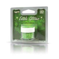 Βρώσιμο Γκλίτερ - Πράσινο Μήλο - (Edible Glitter Apple Green)