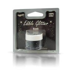 Βρώσιμο Γκλίτερ - Μαύρο - (Glitter Black)