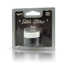 Edible Glitter Black