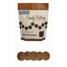 PME Candy Buttons - Milk Choc (12oz)