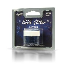 Edible Glitter Navy Blue
