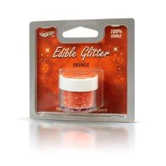 Βρώσιμο Γκλίτερ - Πορτοκαλί - (Glitter Orange)