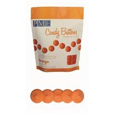 PME Candy Buttons - Orange (12oz)
