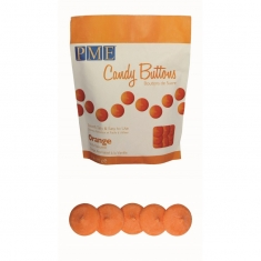 PME Candy Buttons - Orange (12oz)