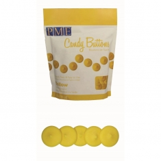 PME Candy Buttons -  Yellow (12oz)