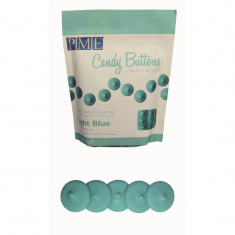 PME Candy Buttons - Light Blue (12oz)