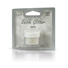 Βρώσιμο Γκλίτερ - Λευκό - (Glitter White)
