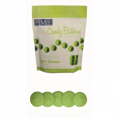 PME Candy Buttons - Light Green (12oz)