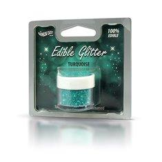 Βρώσιμο Γκλίτερ - Τιρκουάζ - (Glitter Turquoise)
