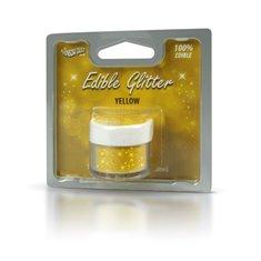 Βρώσιμο Γκλίτερ - Κίτρινο - (Glitter Yellow)