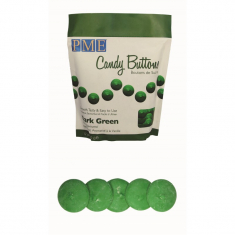 PME Candy Buttons - Dark Green (12oz)