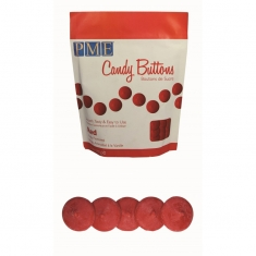 PME Candy Buttons - Red (12oz)
