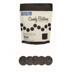 PME Candy Buttons - Black (10oz)