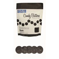 PME Candy Buttons - Black (10oz)