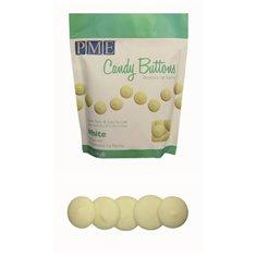 PME Candy Buttons - Λευκό Βανίλια (12oz.-340,2γρ.)