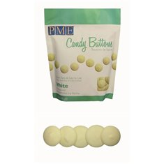 PME Candy Buttons - White Vanilla (12oz)