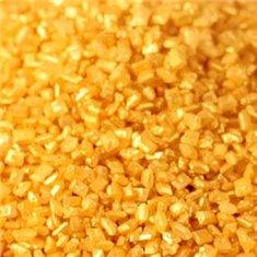 Sprinkles Κρυσταλλικής Ζάχαρης - Χρυσό Μεταλλικό - ( Crystals-Metallic Gold)