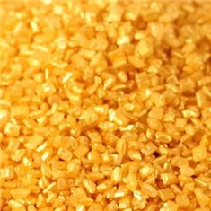 Sprinkles-Sparkling Sugar Crystals-Metallic Gold