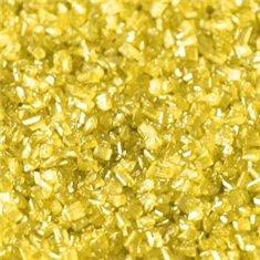 Sprinkles Κρυσταλλικής Ζάχαρης - Ιριδίζων Κίτρινο - (-Pearlescent Yellow)