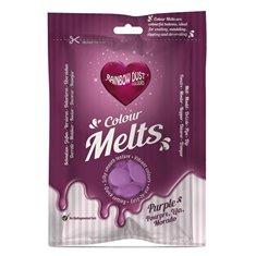 Candy Melts Μωβ 250γρ. της Rainbow Dust (Απομίμηση Σοκολάτας)