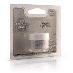 Ανοιχτό Μεταλλικό Ασημί (Edible Silk - Metallic Light Silver)