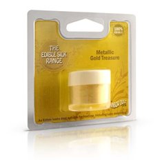 Dust Edible SilkRange - Metallic GoldTreasure