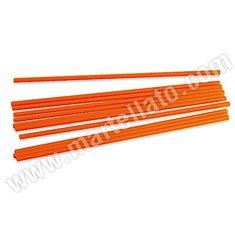Πορτοκαλί Sticks για στήριξη Μεγάλων Τουρτών 50 τεμ. - 30εκ.