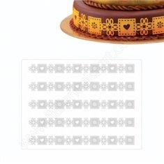 Καλούπι Δαντέλας τούρτας της Martellato 30x40εκ.