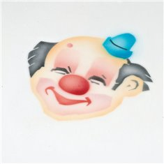 Stencil Clown 1 Pc