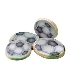 Football Balls Stencil 2 Pcs