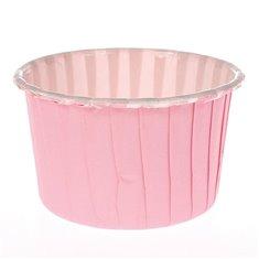 Θήκες Cupcakes Ροζ 5,8εκ. (24τεμ.)