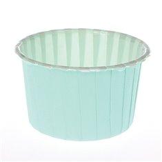 Θήκες Cupcakes Βεραμάν (Aqua) 5,8εκ.