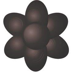 Χρώμα Πάστας Sugarflair  - Έξτρα Μαύρο - 42γρ.