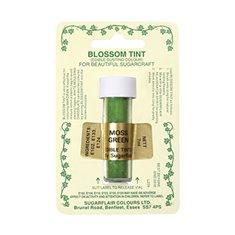 Χρώμα σε Σκόνη (Blossom Tint) της SugarflairΠράσινο Σκούρο (Moss Green)