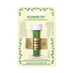 Sugarflair Blossom Tint Dusting Colours ­ Moss Green