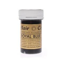 Χρώμα Πάστας της SugarflairΒασιλικό Μπλε 25γρ (RoyalBlue)