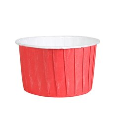 Polka Dot Red - White Baking Cups 58mm. - 24pcs.