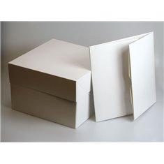 Λευκά Κουτιά Τούρτας Culpitt Τετράγωνα 17,8εκ