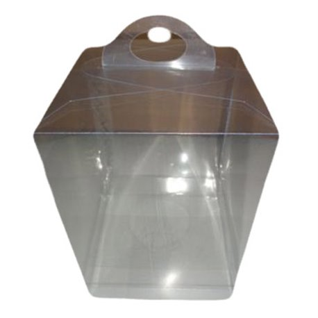 PE Clear Plastic Box - Oblong 14xY21 - for Easter Egg 240g. - 400g.