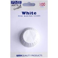 PME White Mini Baking Cases - Pack of 100