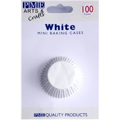 PME White Mini Baking Cases - Pack of 100