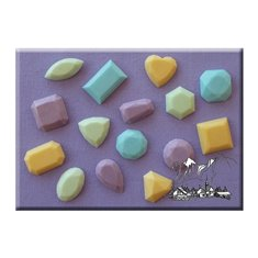 Alphabet Moulds - Καλούπι  - Πολύτιμες Πέτρες