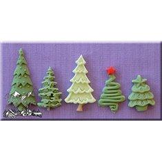 Καλούπι Αποτύπωσης της Alphabet Moulds Χριστουγεννιάτικα Δέντρα (Christmas Trees)