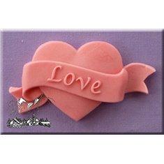 Καλούπι Αποτύπωσης της Alphabet Moulds Καρδιά-Αγάπη (Love Heart)